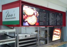Signs & Displays Direct- Nona's Menu Boards